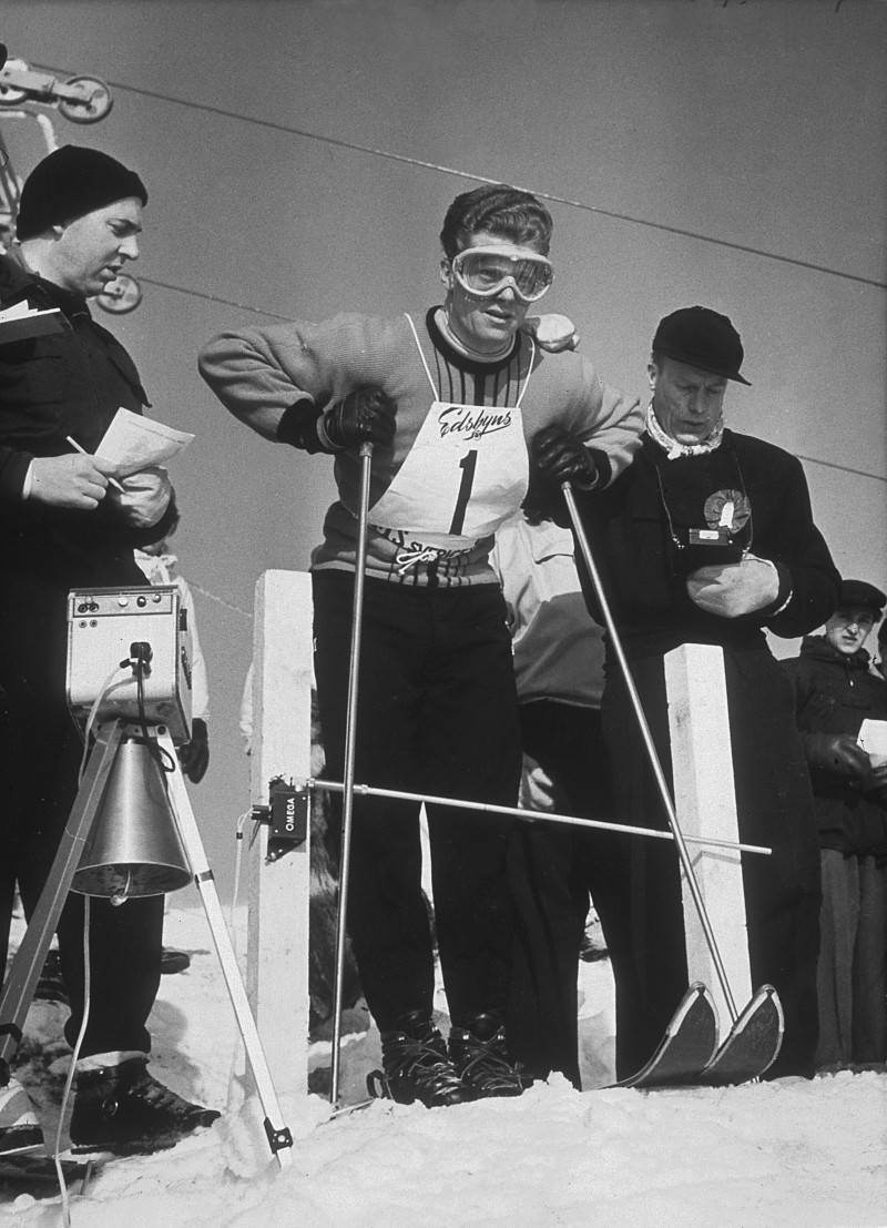 Stein Eriksen in the early 1950s