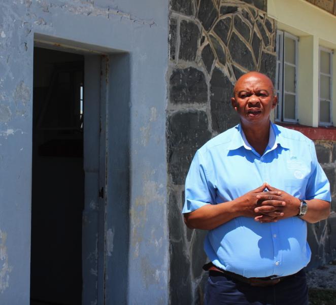 "Mlilwana ""Sparky"" Sparks, prisoner, now guide on Robben Island"