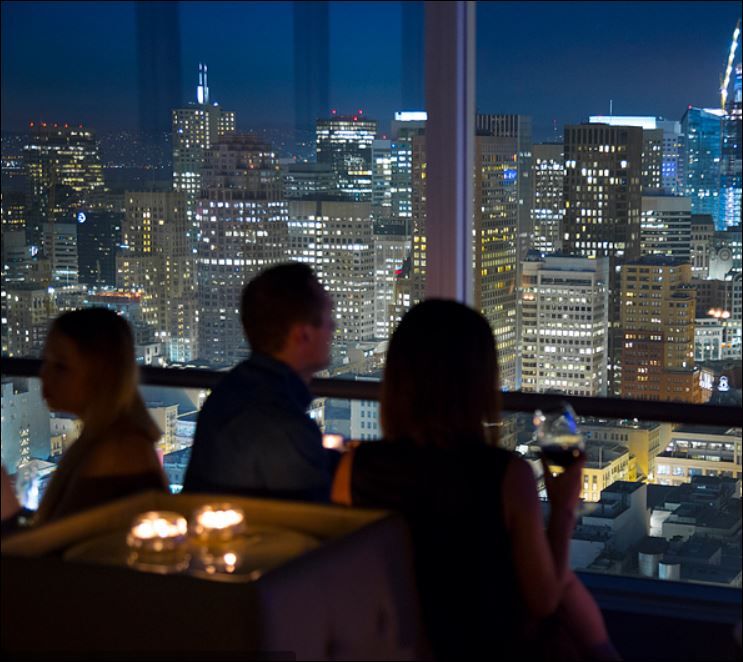 CityScape Lounge in the Hilton San Francisco