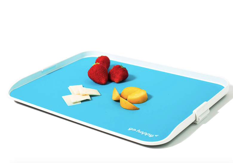Clean, safe surface for kids – Go Happy Travel Tray