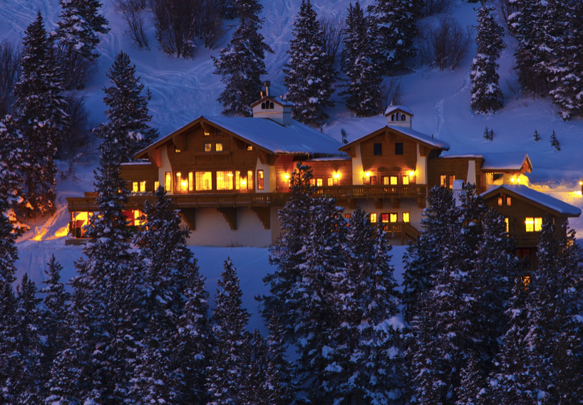 The Game Creek Club on Vail Mountain