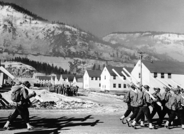 10th Mountain Division Training for WWII at Camp Hale CO