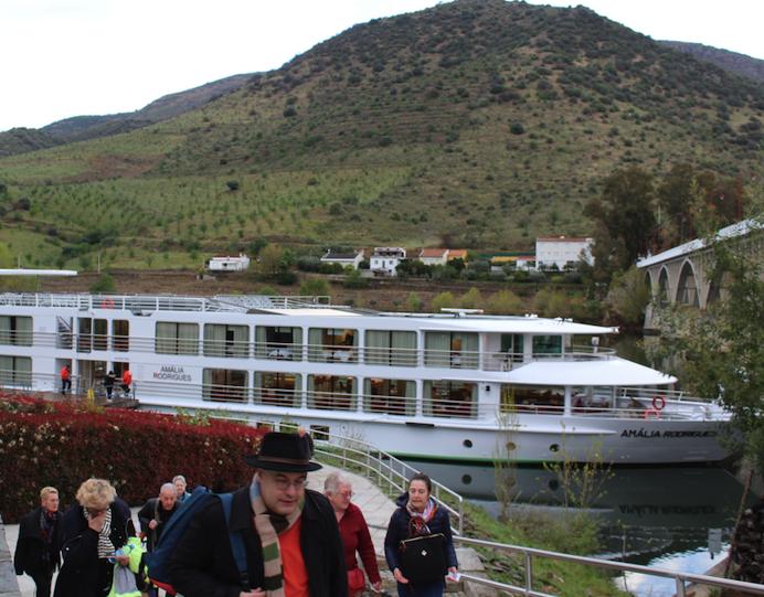 Salamanca Spain from CroisiEurope cruise