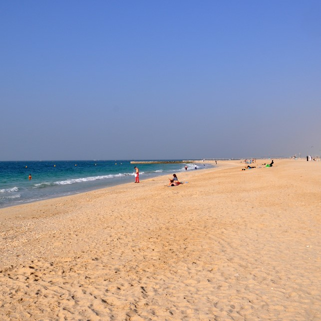 Dubai's kite beach