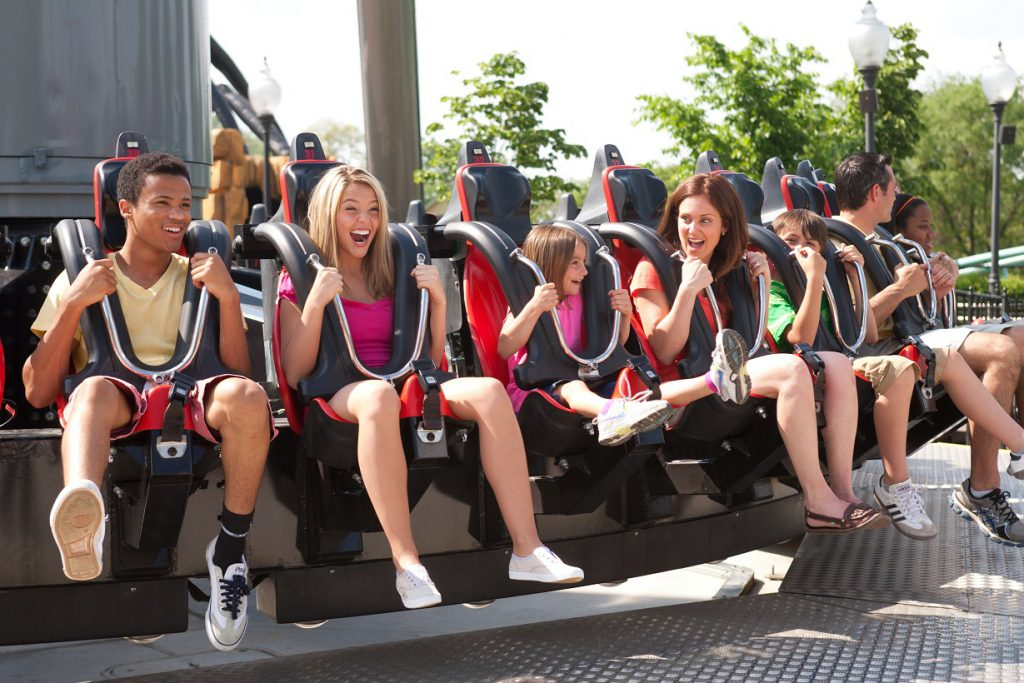 Black Widow coaster at Kennywood