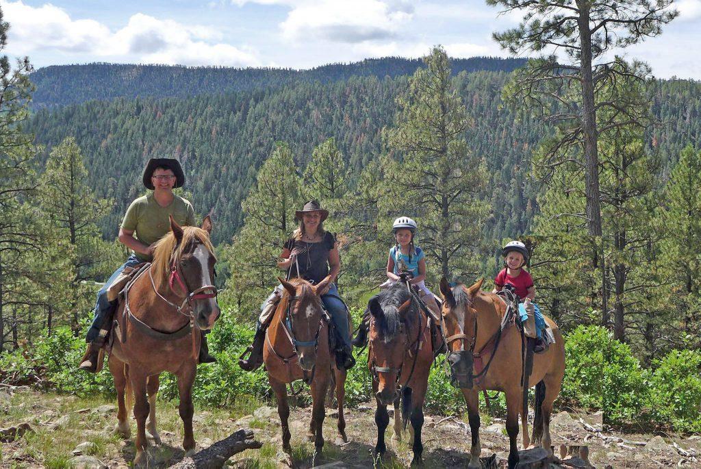 Colorado Trails Ranch family ride