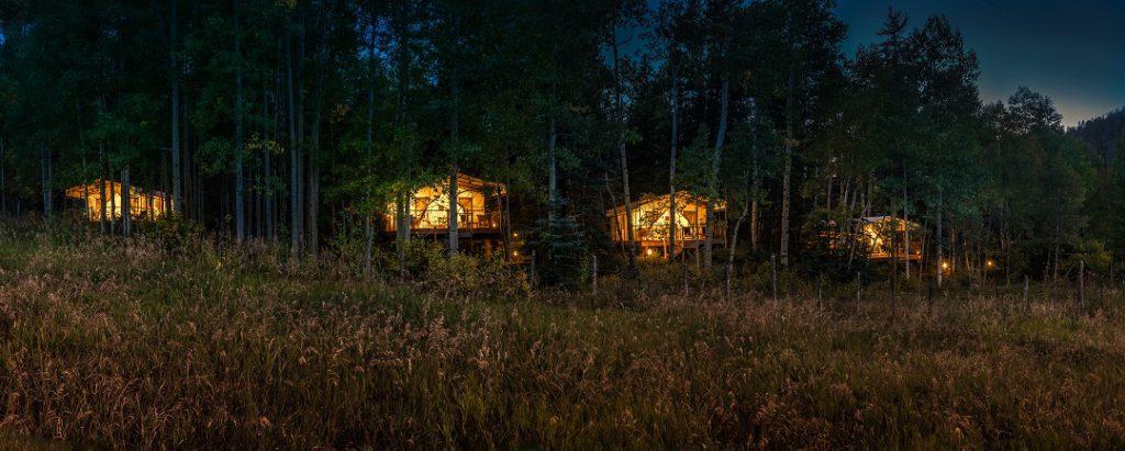 Dunton River Camp in the Colorado Rockies