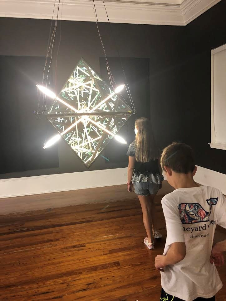 Getting up close and personal with art at the Cornell Art Museum