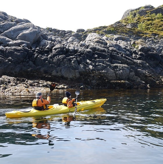 Seabourne Cruise kayaking excursion