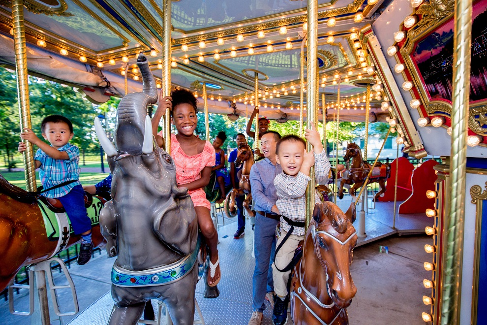 The Parx Liberty Carousel, Franklin Square