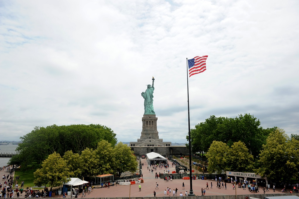 Taking the Kids — to the world's best birthday present, the Statue of Liberty