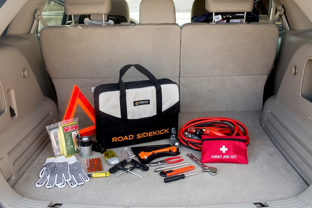Sidekick Solution 64 Piece Multipurpose Road Side Assistance