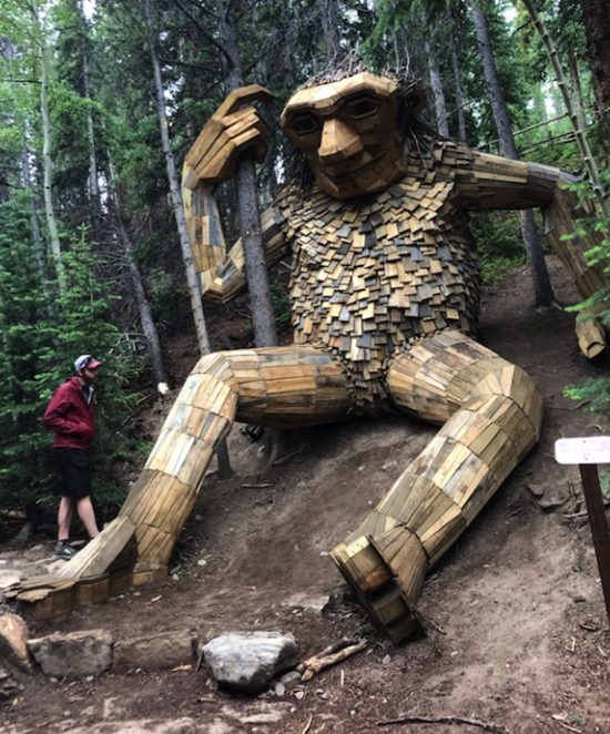 Breckenridge CO in summer: hikes, bikes, mountain fun, good eats and an AWESOME TROLL!