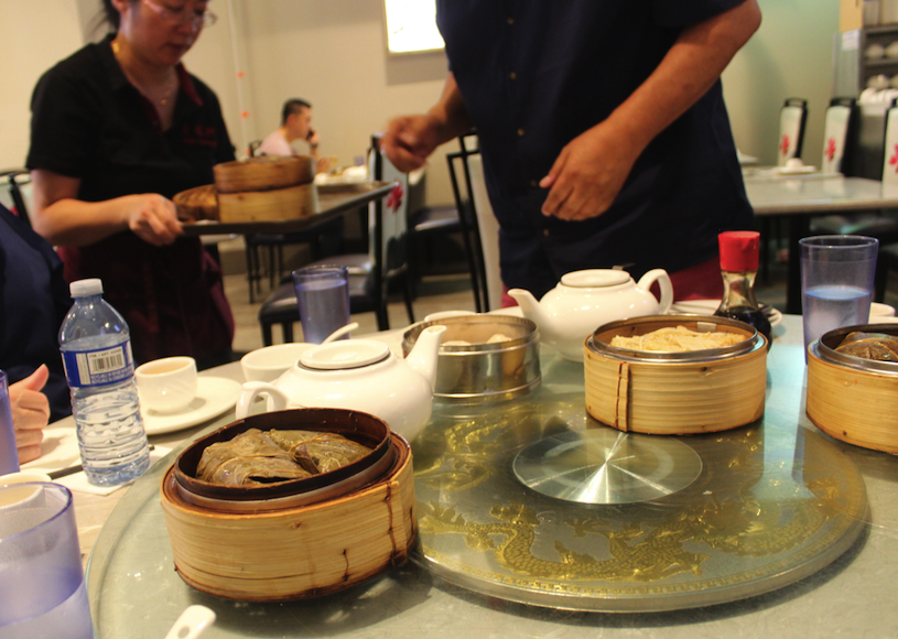 Dim Sum is served at Jade Dynasty restaurant in Vancouver's Chinatown