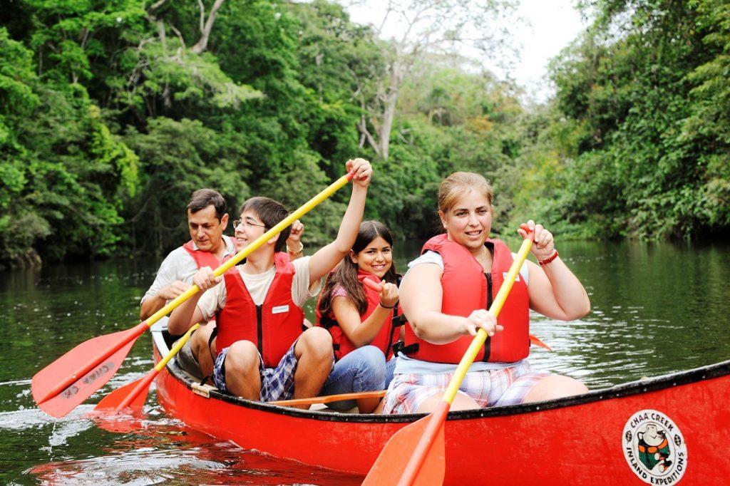 Chaa Creek canoeing tours