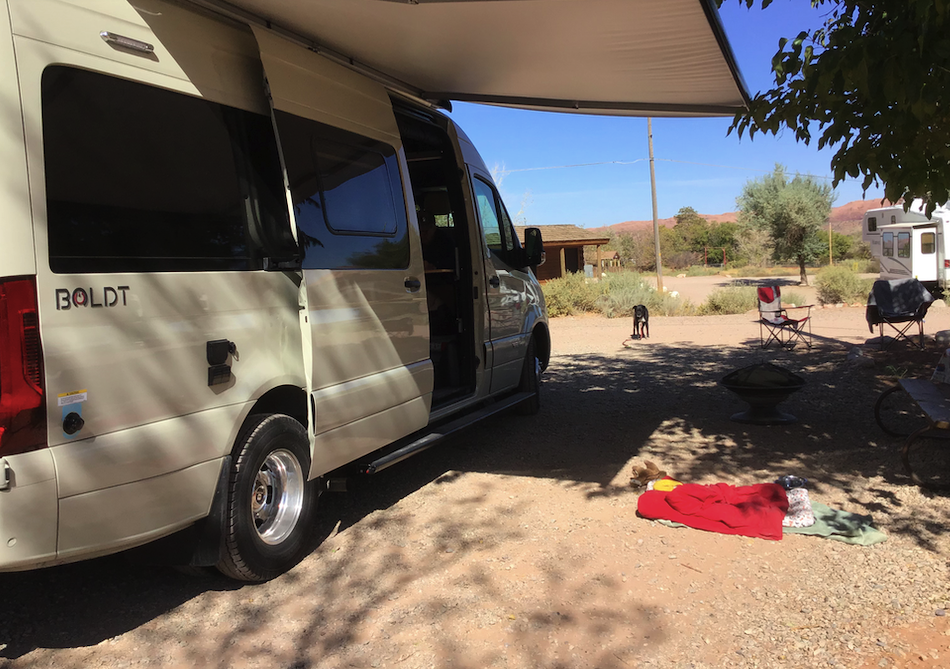 Our home away from home in Moab