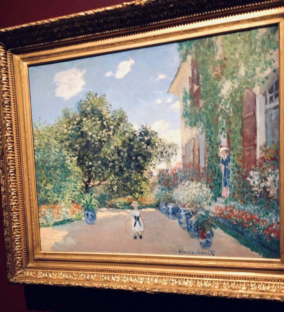 Claude Monet, The Artist's House at Argenteuil, 1873