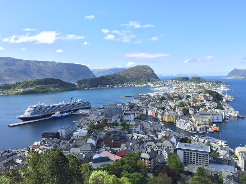 Holland America cruise in Norway
