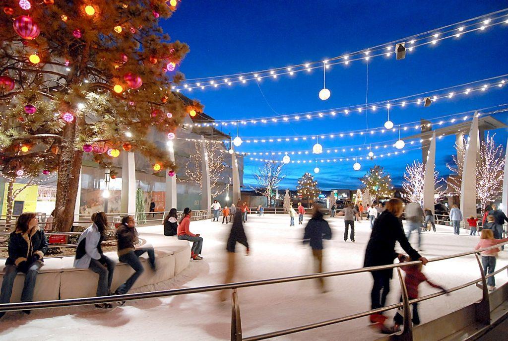 Mile High Holidays, ice skating, Denver