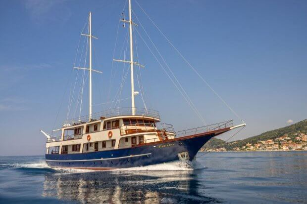 Luna is a two-floored motor yacht and one of the most desired charters in Croatia