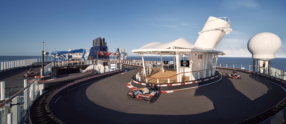The Speedway aboard Norwegian Cruise Line's Encore