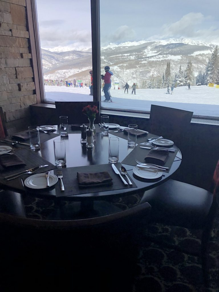Food and dining in Vail CO meets everyone's tastes