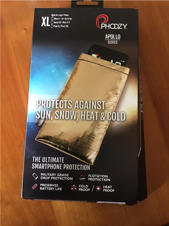 Protect your smartphone from the deep freeze – and the big drop!