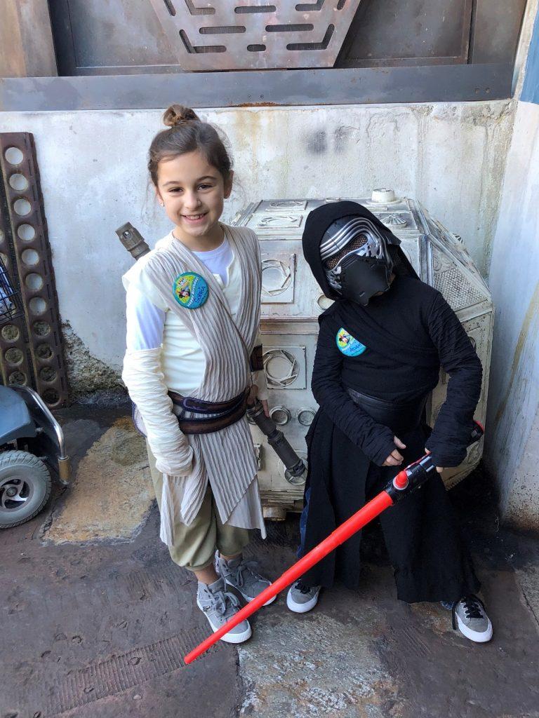 Taking the Kids — to a galaxy far, far away