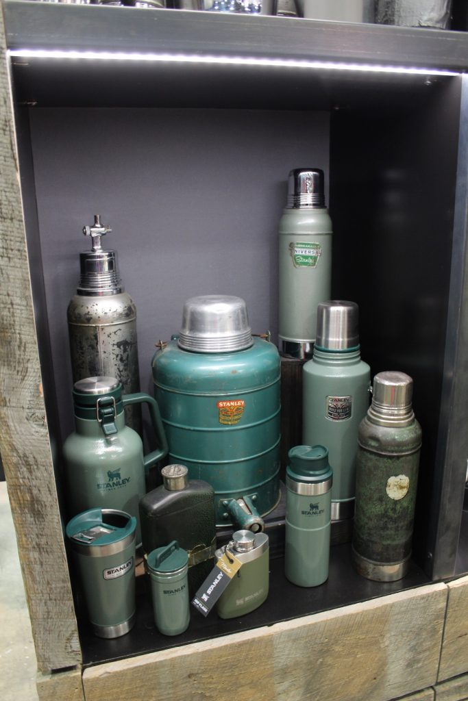 Stanley thermos products - old and new