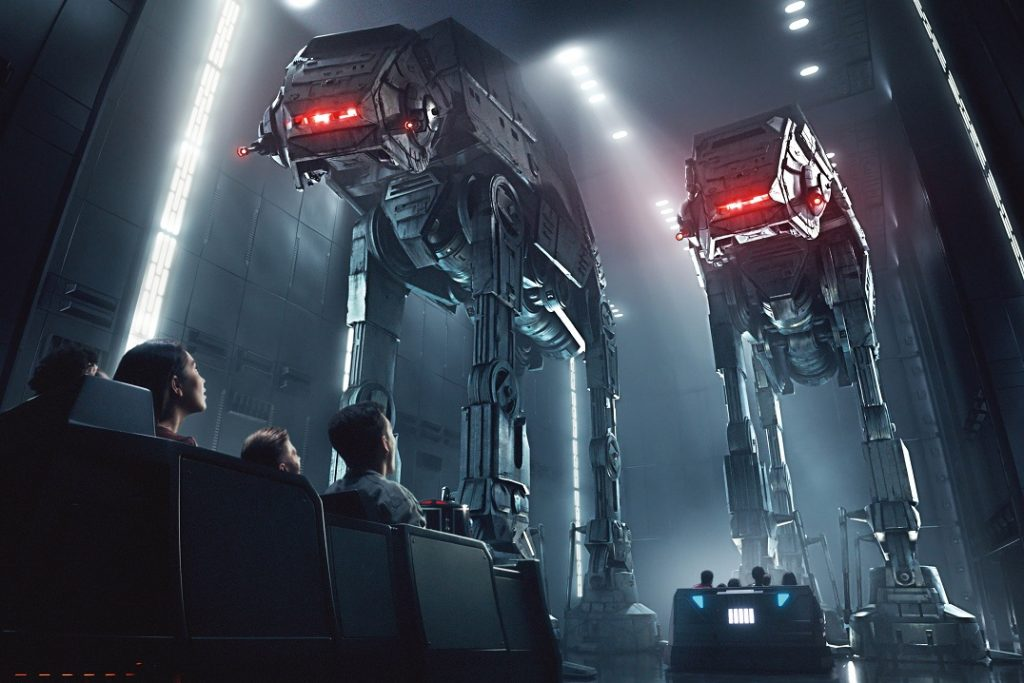Star Wars: Rise of the Resistance in Star Wars: Galaxy's Edge