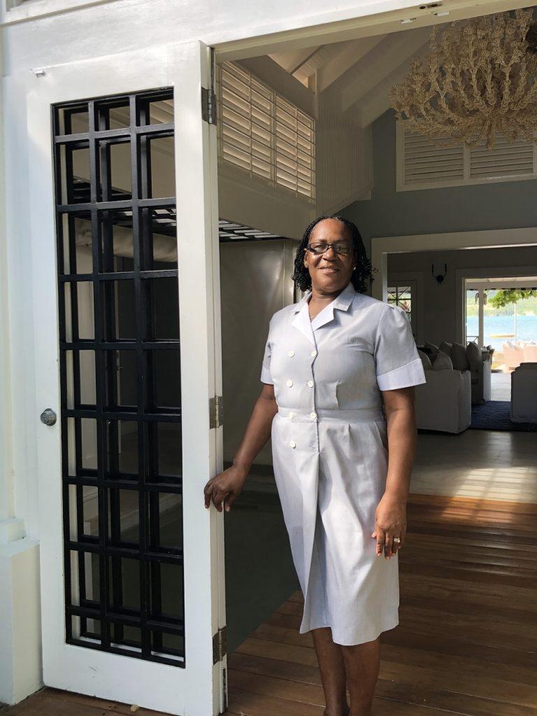 Veronica Hall, head housekeeper at Sundown Villa