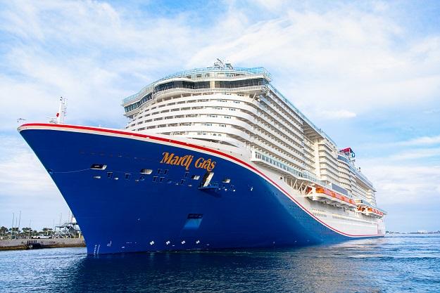 Carnival's new ship Mardi Gras