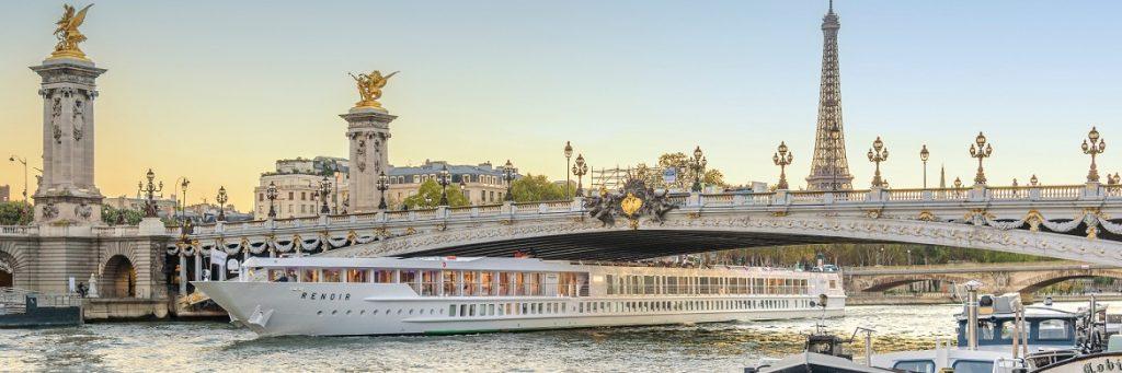 CroiseEurope's Ms Renoir on the Seine River in Paris