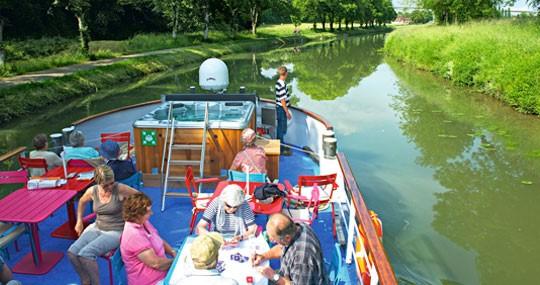 A CroiseEurope barge trip