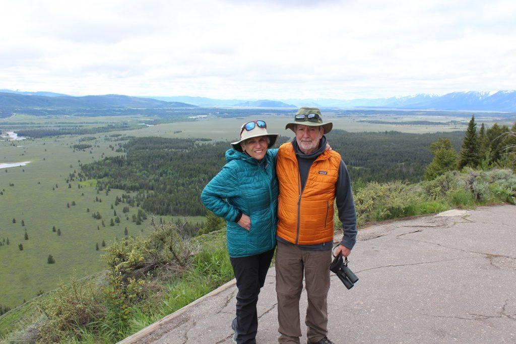 Atop Signal Mountain in Grand Teton National Park