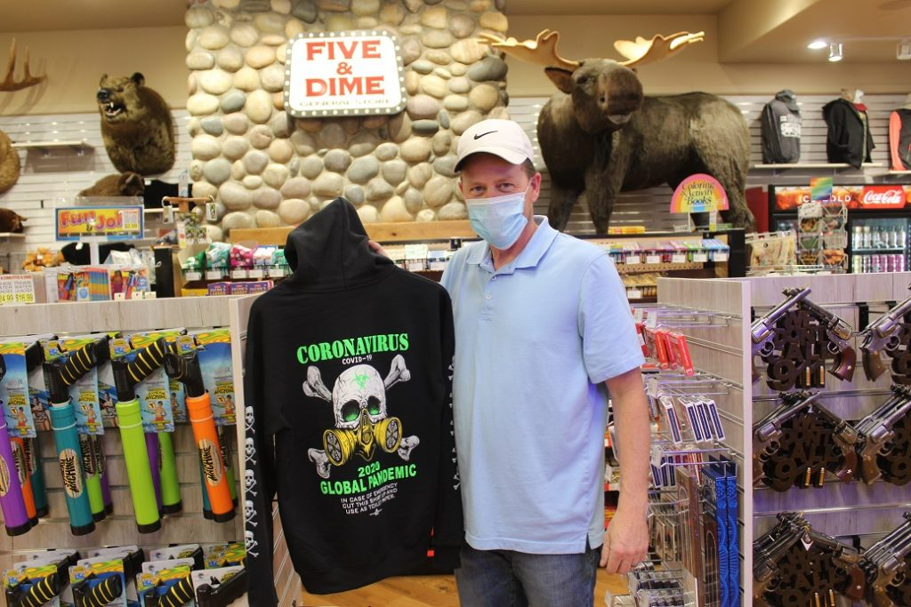 Five and Dime store manager Steve Sykes in Jackson WY