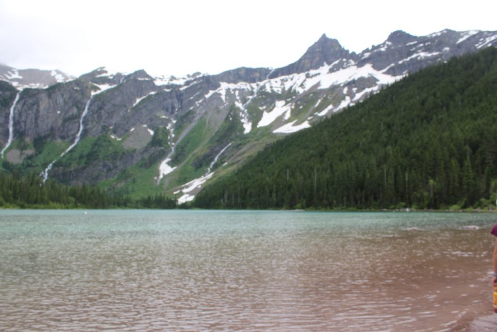 Avalanche Lake in Glacier National Park