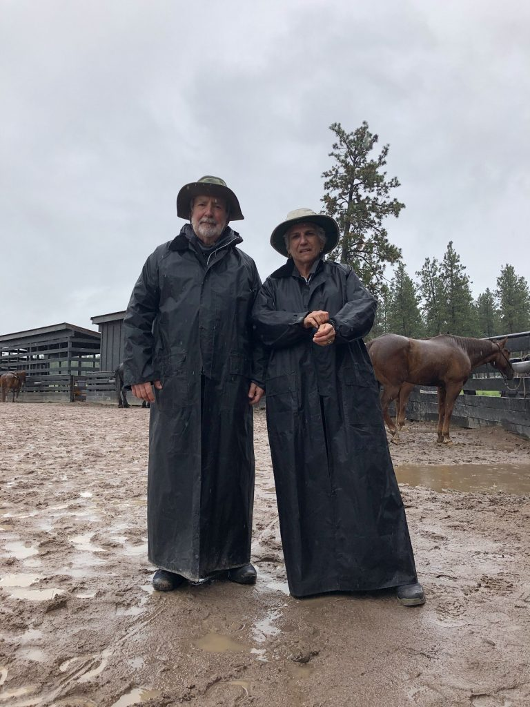 A little rain can't stop the fun in the Big Sky State - at Paws Up Resort