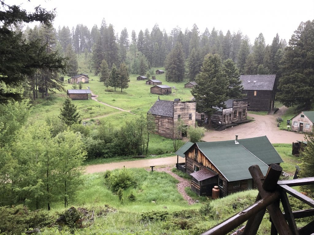 The ghost town of Garnet Montana