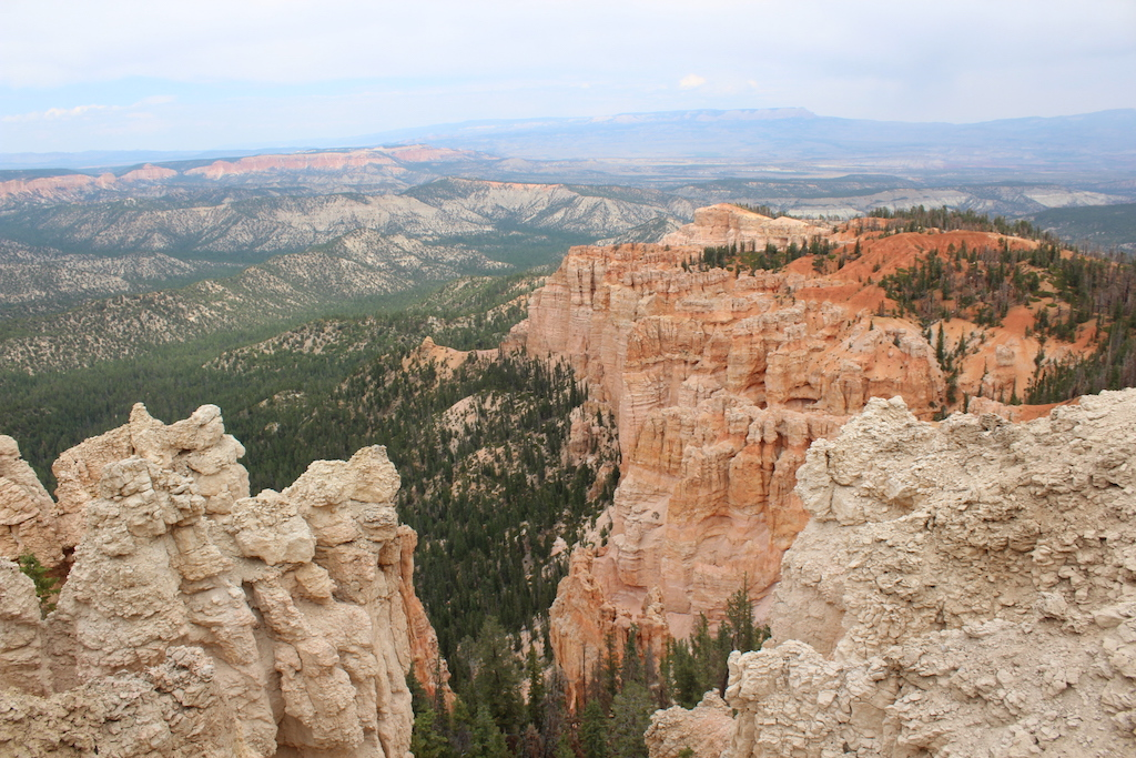 View from Rainbow Point - highest elevation in Bryce Canyon NP at 9000 feet