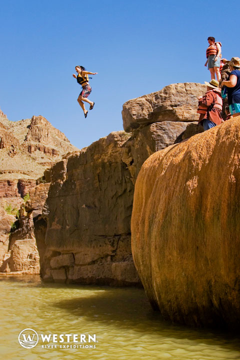 Extracurricular fun on a Western River Expeditions Grand Canyon trip