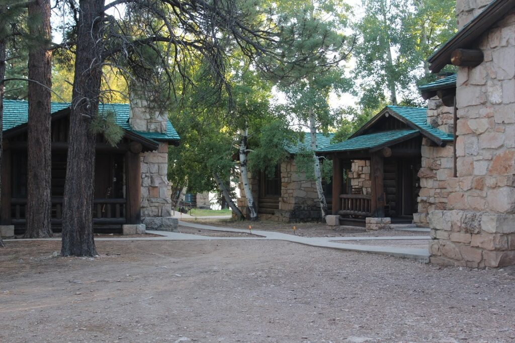 Cabins on North Rim of Grand Canyon