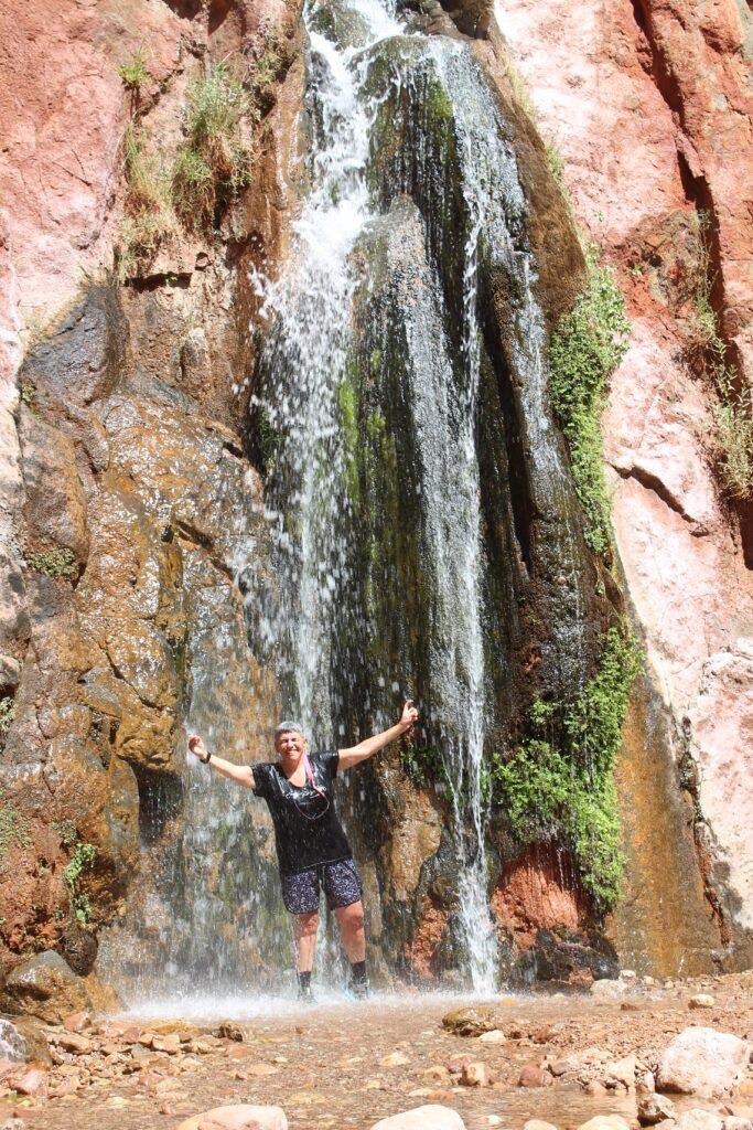 Chillin at Stone Creek Falls