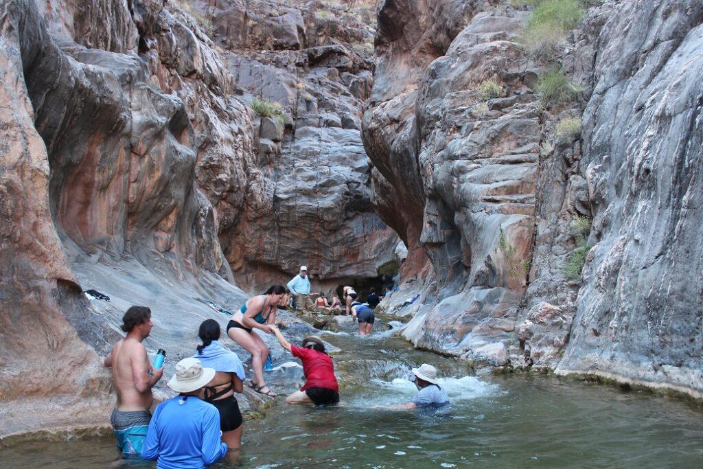 More fun and games at Shimuno Falls