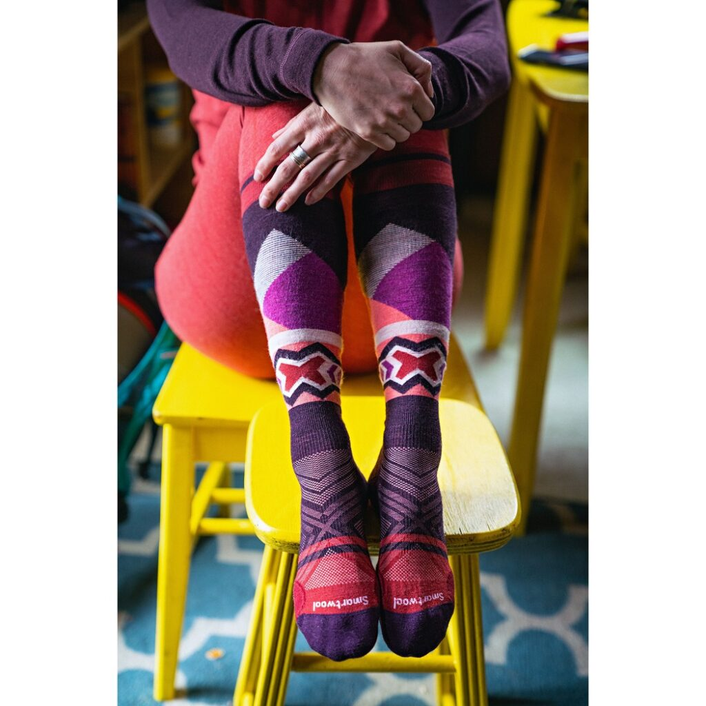 Cotton socks that wick moisture and have cushioning from SmartWool. (SmartWool)