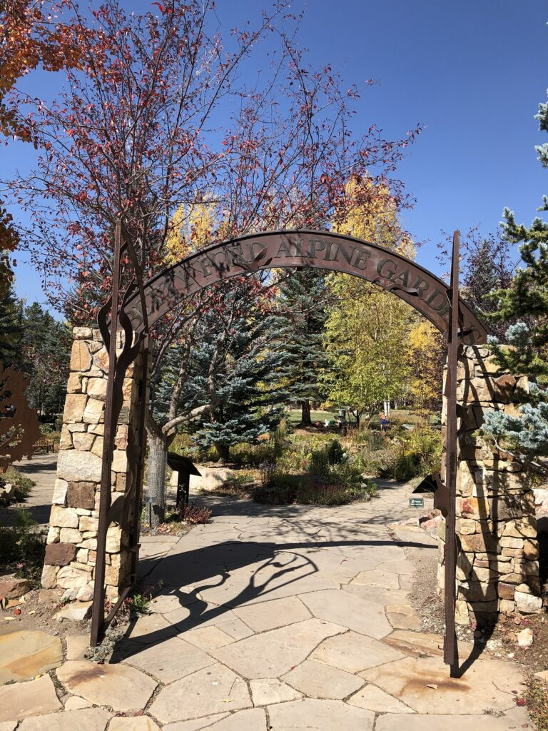 The Betty Ford Botanical Gardens at Vail