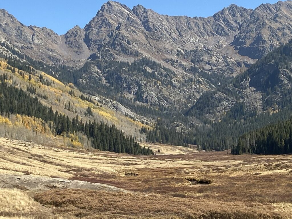 The Eagles Next Wilderness above Piney Lake