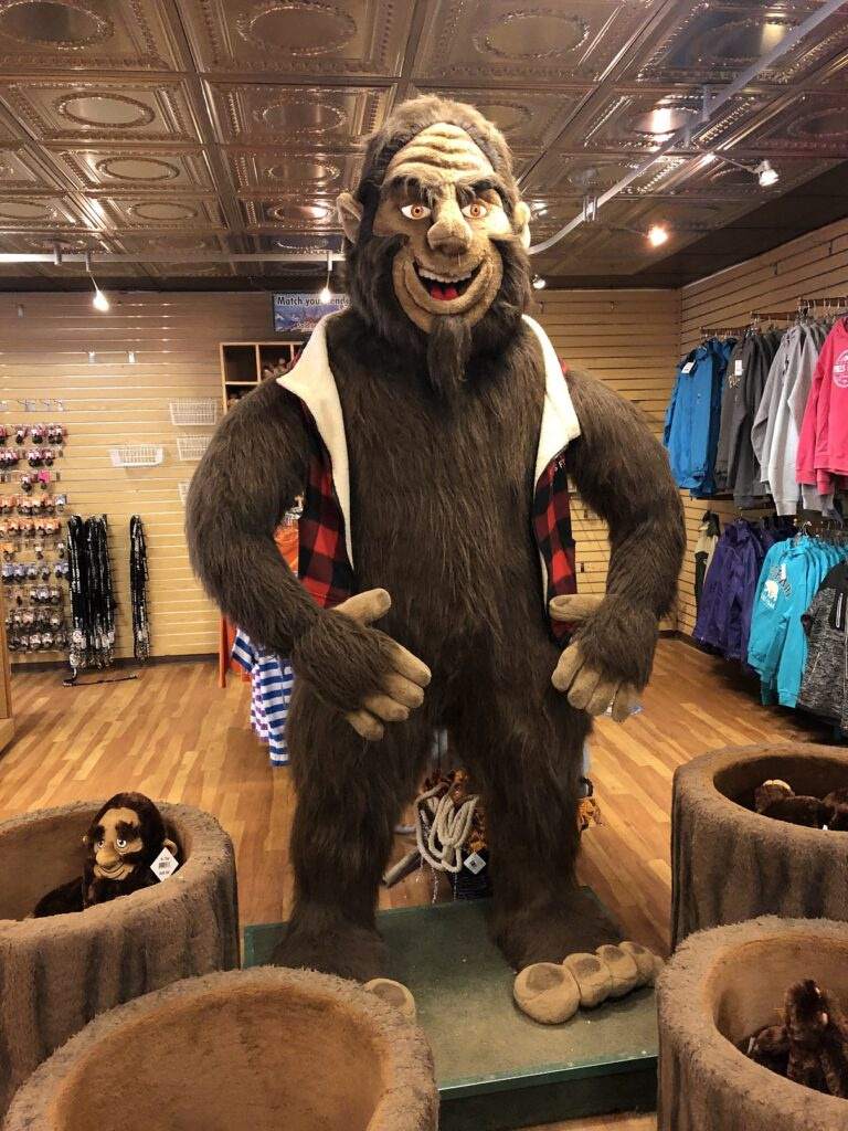 In the gift shop at the top of Pikes Peak
