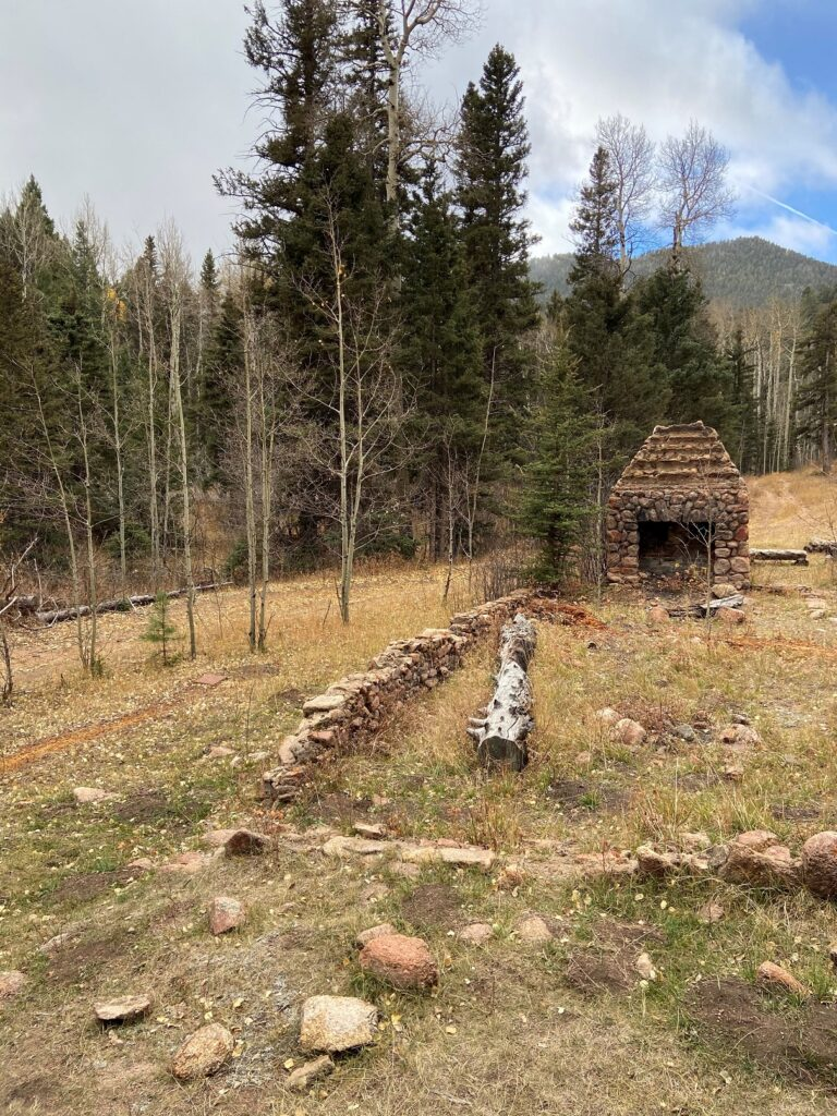 Remains of the Nanny's Cabin - The Ranch at Emerald Valley