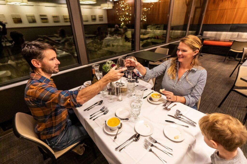 Family Dinner Alta Lodge